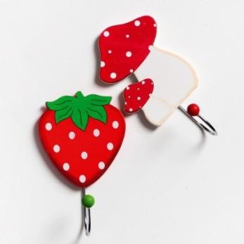 Φράουλα μανιτάρι κρεμάστρα