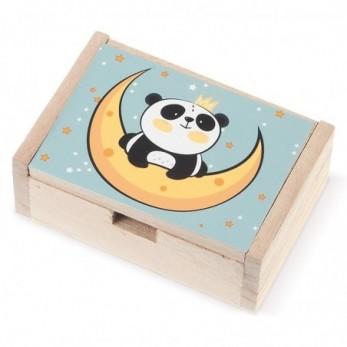 Ξύλινο κουτί Panda