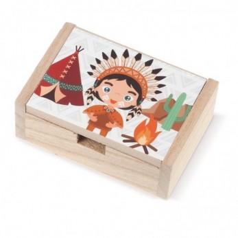 Ξύλινο κουτί Ινδιάνος