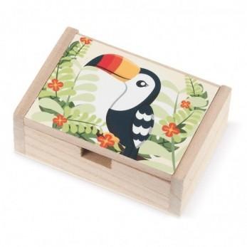 Ξύλινο κουτί Toucan