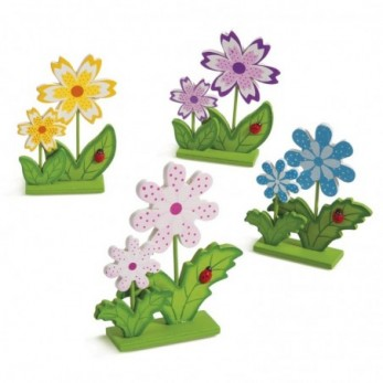 Λουλούδια σε βάση