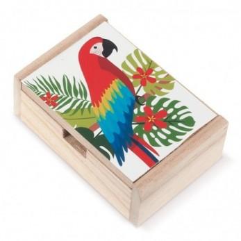 Ξύλινο κουτί Παπαγάλος