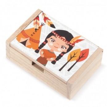 Ξύλινο κουτί Ινδιάνα