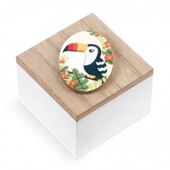 Ξύλινο κουτάκι Toucan