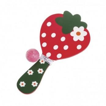 Φράουλα ρακέτα με μπαλάκι