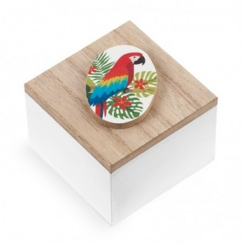 Ξύλινο κουτάκι Παπαγάλος