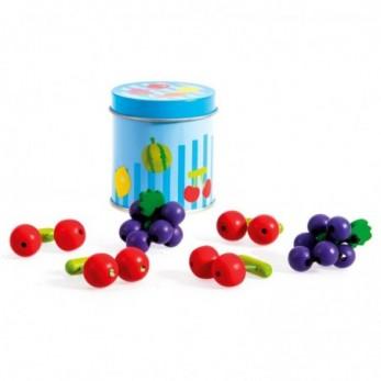 Ξύλινα Φρούτα σε μεταλλικό...