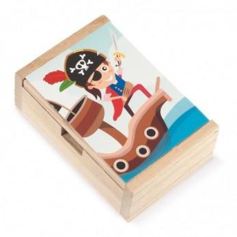 Ξύλινο κουτί Πειρατής