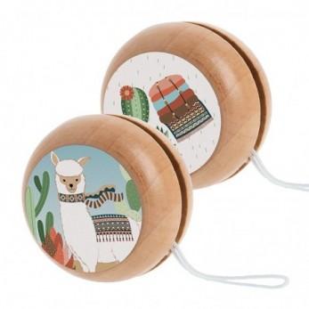 Ξύλινο yo-yo Llama