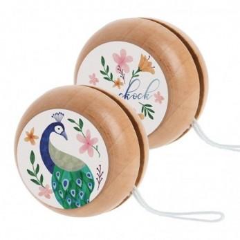 Ξύλινο yo-yo Παγώνι