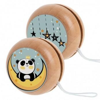 Ξύλινο yo-yo Panda