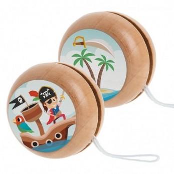 Ξύλινο yo-yo Πειρατής