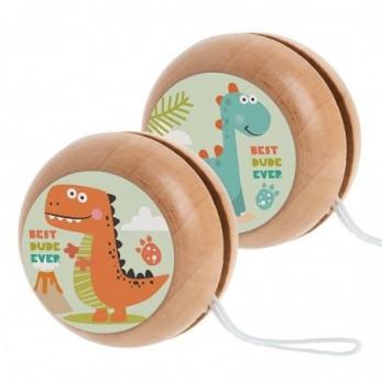 Ξύλινο yo-yo Δεινόσαυρος