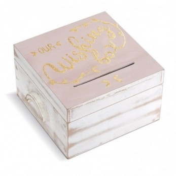 Ξύλινο κουτί ευχών γάμου