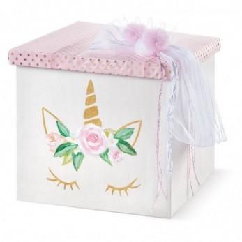 Κουτί Βάπτισης Μονόκερος