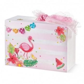 Κουτί Βάπτισης Flamingo