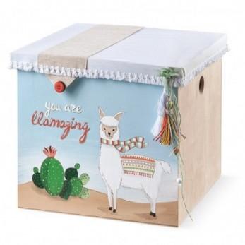 Κουτί Βάπτισης Llama