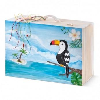 Κουτί Βάπτισης Toucan