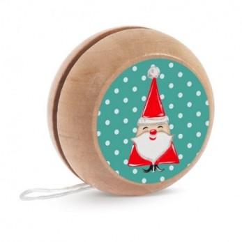 Ξύλινο yo-yo Άγιος Βασίλης