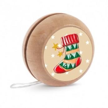 Ξύλινο yo-yo...