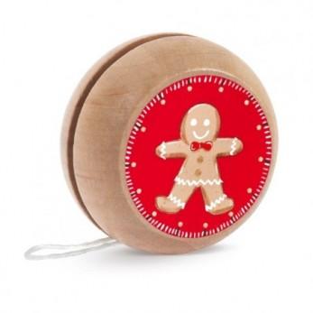 Ξύλινο yo-yo Μπισκοτάκι