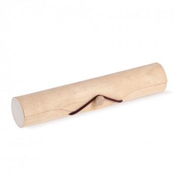 Ξύλινο Παπιγιόν Φυσικό για μπομπονιέρες