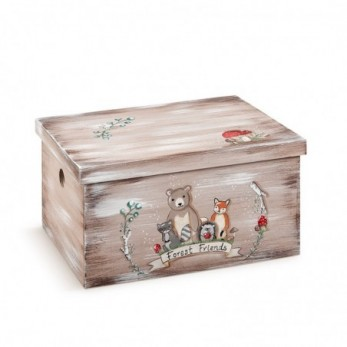 Κουτί βαπτιστικών Παρέα του δάσους