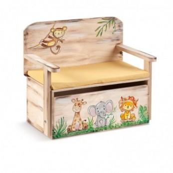Κουτί βαπτιστικών Παρέα της Ζούγκλας