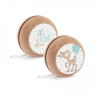 Μπομπονιέρα Βάπτισης Ξύλινο yo-yo Ελαφάκι