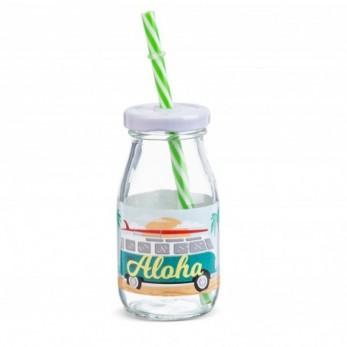 Μπομπονιέρα Βάπτισης Μπουκάλι γάλακτος Aloha