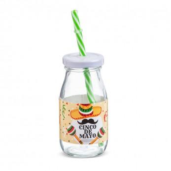 Μπομπονιέρα Βάπτισης Μπουκάλι γάλακτος Mexican