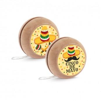 Ξύλινο yo-yo Mexican