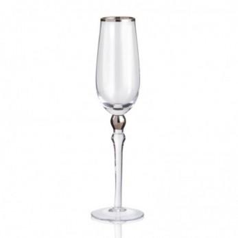 Γυάλινο ποτήρι σαμπάνιας με...
