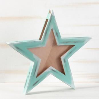 Κουτί Ευχών Αστέρι με plexiglass
