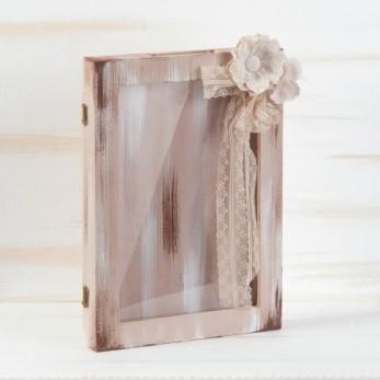 Στεφανοθήκη με plexiglass