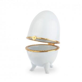 Πορσελάνινη Μπιζουτιέρα αυγό