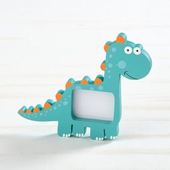 Ξύλινη κορνίζα δεινόσαυρου
