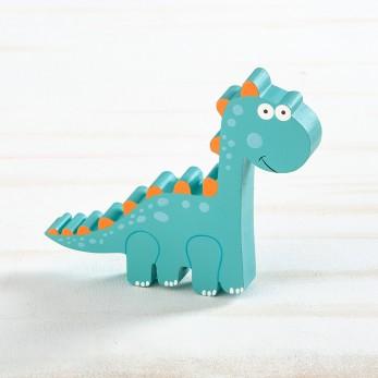 Ξύλινο διακοσμητικό δεινόσαυρος