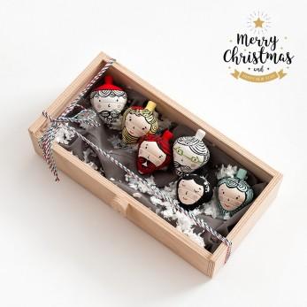 Χριστουγεννιάτικο σετ  δώρου με σβούρες
