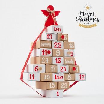 Advent calendar Χριστουγέννων
