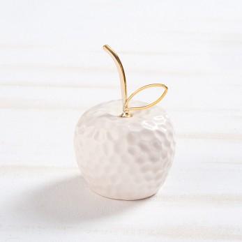 Πορσελάνινο λευκό μήλο