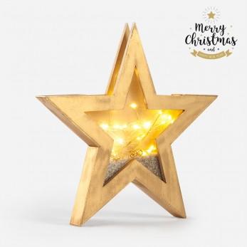 Ξύλινο διακοσμητικό αστέρι...