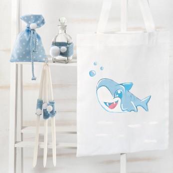Σετ Λαδιού Βάπτισης Baby Shark