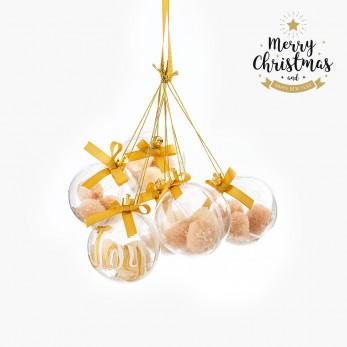 Χριστουγεννιάτικο στολίδι- κρεμαστή μπάλα