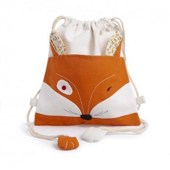 Υφασμάτινο Backpack αλεπού