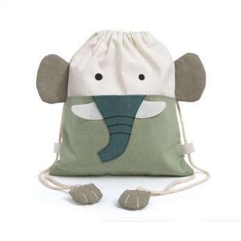 Υφασμάτινο Backpack Ελεφαντάκι