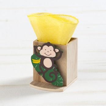 Ξύλινη μολυβοθήκη μαϊμού
