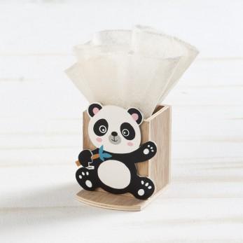 Ξύλινη μολυβοθήκη panda
