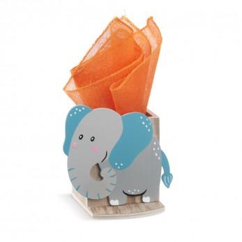 Ξύλινη μολυβοθήκη ελέφαντας