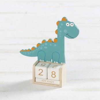 Ξύλινο ημερολόγιο δεινόσαυρος